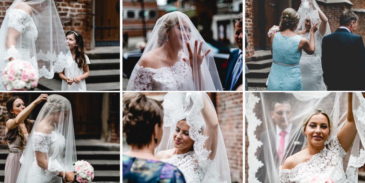 Retro Hochzeitsfotos Boho Vintage