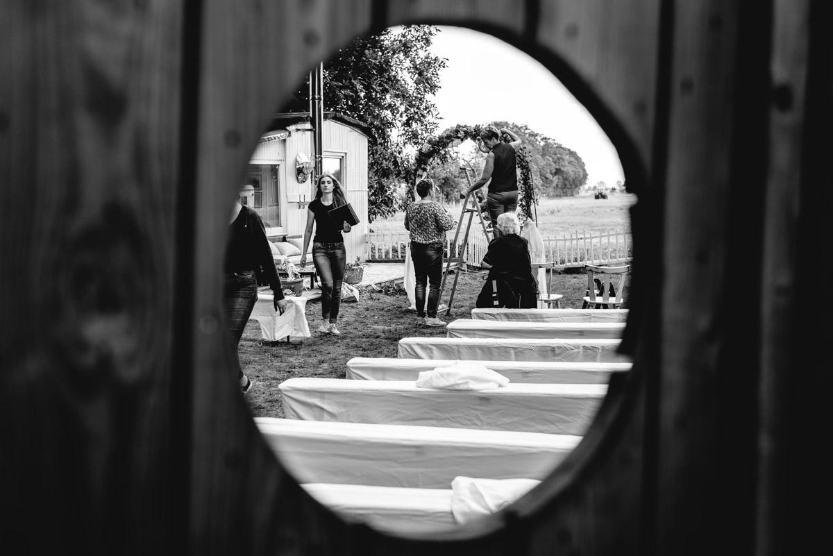 Hochzeitsfotograf Bremen Landhaus Deich